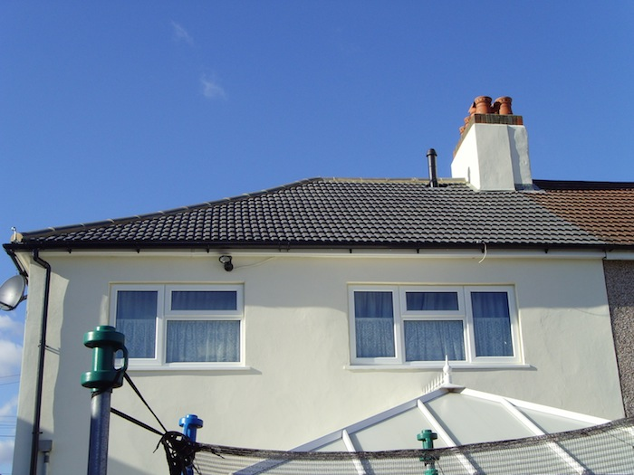 Bexleyheath New roof, porch and render inc decorate and install gates